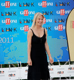 Martha De Laurentiis al Giffoni Film Festival 2011 Royaltyfri Foto