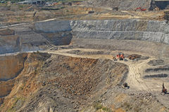 Martha gold mine, Waihi, New Zealand Stock Photos