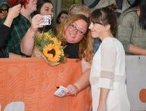 Martha MacIsaac atende à premier do ` de Unicorn Store do ` no filme 2017 internacional de Toronto Festiva imagem de stock royalty free