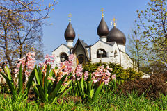 Martha and Mary Convent in Moscow, Russia Stock Image