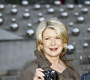 Martha Stewart. NEW YORK - APRIL 20: Martha Stewart arrives the Vanity Fair party at the 2010 Tribeca Film Festival at the New York State Supreme Court on April Stock Images