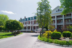Martha Washington Inn - Abingdon, Virginia. Abingdon, Virginia USA - May 19: the Martha Washington Inn, a Four-Star, Historic Hotel of America, which was built Stock Photos