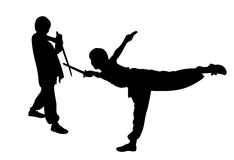 Martial art Royalty Free Stock Photos
