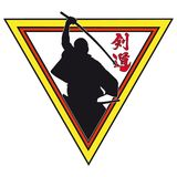 Martial art colored simbol icon.  Stock Images
