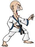 Martial art move Stock Photos