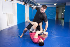 Martial art training Royalty Free Stock Images