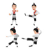 Martial Art Warrior Character Fight Stock Photography