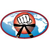 Martial art World Cup colored simbol. Vector. Stock Image