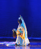 Martial arts Ballet-The dance drama The legend of the Condor Heroes. In December 2, 2014, a large Chinese dance drama the legend of the Condor Heroes for the Stock Photos
