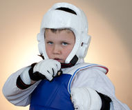 Martial Arts Boy Stock Image