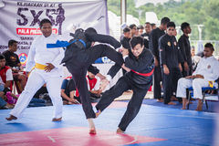 Martial Arts Competition Stock Images