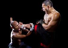Martial Arts Counter Move Stock Photography