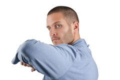Martial Arts Elbow Stock Photo