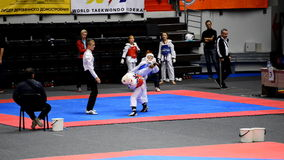 Martial arts festival Baltic Sea Cup in St. Petersburg, Russia stock footage