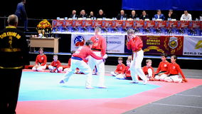 Martial arts festival Baltic Sea Cup in St. Petersburg, Russia stock video footage