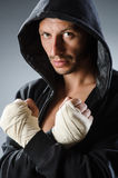 Martial arts fighter Royalty Free Stock Photography