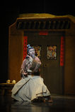 Martial arts-Hui ballet moon over Helan Stock Images