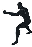 Martial Arts, illustration Stock Image
