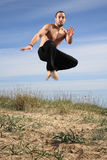 Martial arts instructor Royalty Free Stock Photography