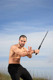 Martial arts instructor Stock Photography