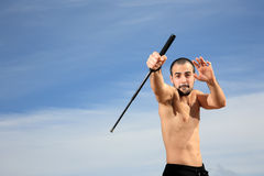 Martial arts instructor Stock Images