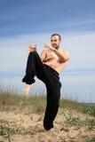 Martial arts instructor Royalty Free Stock Photos