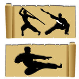 Martial arts Royalty Free Stock Images