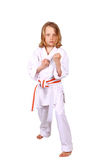 Martial arts kid Stock Photography
