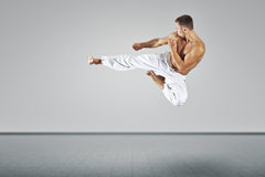 Martial arts master. An image of a martial arts master Royalty Free Stock Images