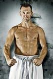 Martial arts master Royalty Free Stock Photography