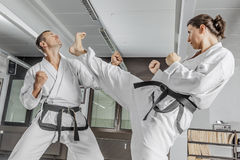 Martial arts master Stock Photography