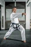 Martial arts master Stock Image