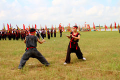Martial arts practitioners per Stock Photography