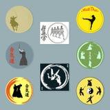 Martial arts. Stock Photos