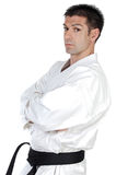 Martial arts stance Royalty Free Stock Photography