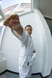 Martial Arts Tween Stock Image