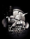 Martial arts vector Stock Photography
