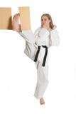Martial Arts Woman stock photo