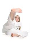 Martial Arts Woman Royalty Free Stock Image