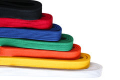 Martial Belts Stock Images