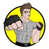 Martial icon stock illustration