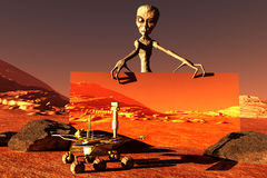 The Martian Stock Photography