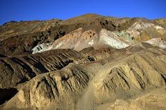 Martian Landscape. Desert landscape in geological formations of Death Valley National Park Royalty Free Stock Image