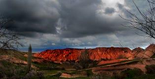 Martian landscape. Stock Photos