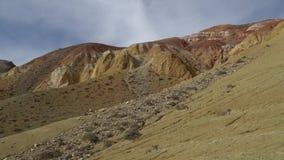 Martian landscape in the mountains of Alyai region, Siberia.
