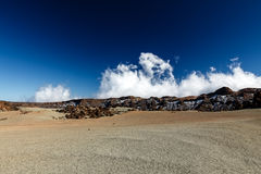 Martian landscape. The volcano and its surroundings comprise Teide National Park and was named a World Heritage Site by UNESCO. Tenerife, Canary Islands, Spain stock images
