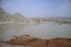 Martian Mountains Fotos de Stock Royalty Free