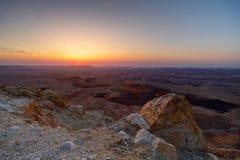 Martian Sunrise Fotografie Stock