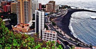 Martianez Playa stock photography