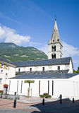 Martigny church Royalty Free Stock Photography